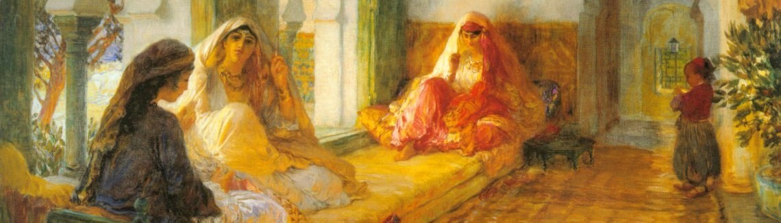 Frederick Arthur Bridgman - In The Seraglio
