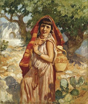 Frederick Arthur Bridgman - The Water Carrier