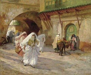 Frederick Arthur Bridgman - Women of Algiers
