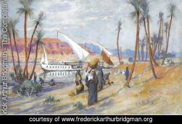 Water Carriers By The Nile