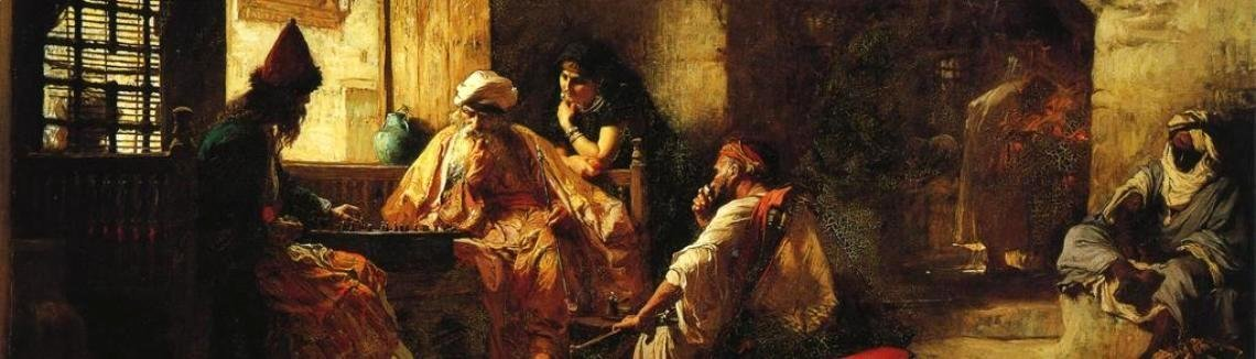 Frederick Arthur Bridgman - An Interesting Game