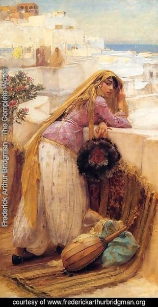 Frederick Arthur Bridgman - On The Terrace