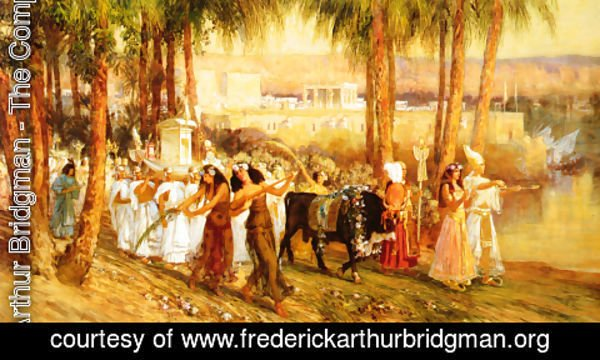 Frederick Arthur Bridgman - Procession In Honor Of Isis