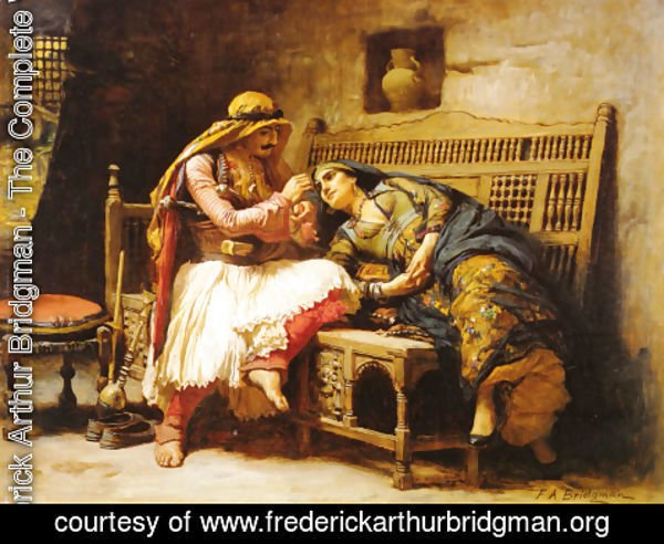 Frederick Arthur Bridgman - Queen Of The Brigands