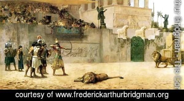 Frederick Arthur Bridgman - The Diversion Of An Assyrian King