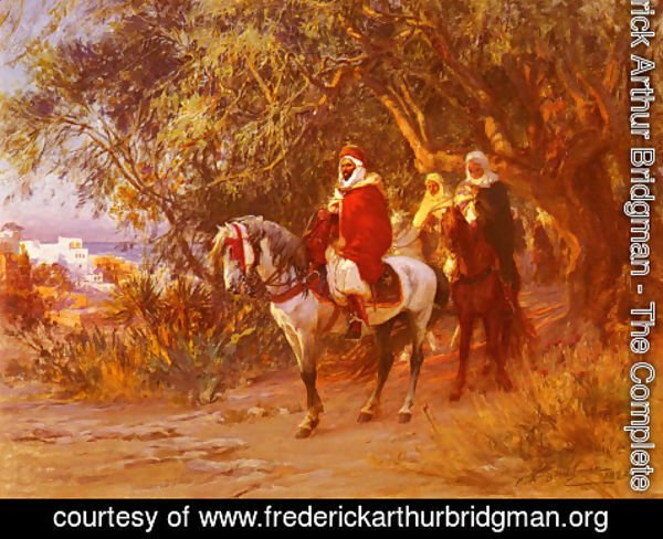 Frederick Arthur Bridgman - The Return
