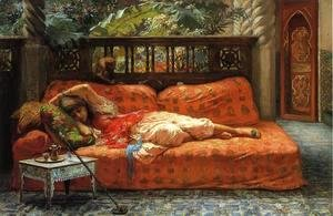 Frederick Arthur Bridgman - The Siesta